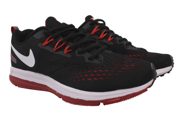 Кроссовки Nike текстиль, цвет черный