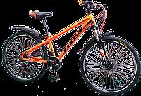 """Велосипед подростковый Titan Flash 24"""" алюминиевая рама"""