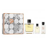 Чоловічий подарунковий набір HERMES Terre dHermes , свежиий цитрусовий деревний аромат ОРИГІНАЛ