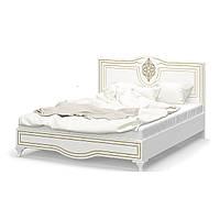 """Ліжко 160 """"Мілан"""" від Мебель Сервіс (біла, МДФ патина), фото 1"""