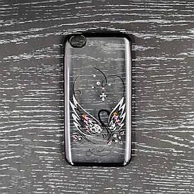 Чехол накладка для Xiaomi Redmi Go силиконовый Beckberg Breathe seria, Лебедь