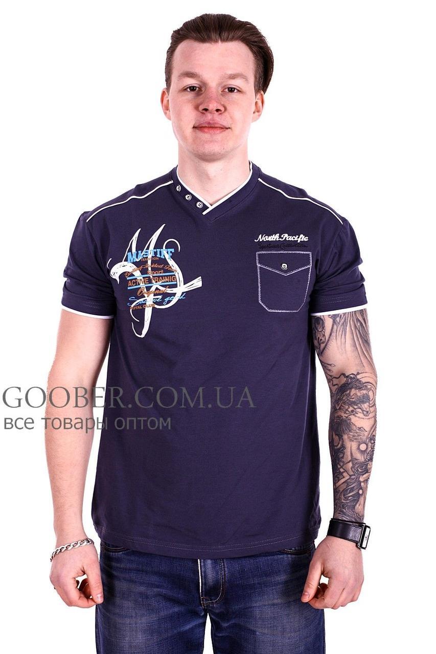 Мужская футболка Mastif производство Турция (f1118/6) XL