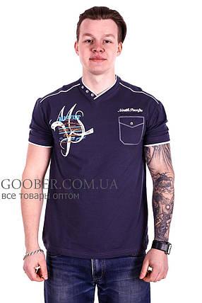 Мужская футболка Mastif производство Турция (f1118/6) XL, фото 2