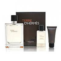 Оригінальний подарунковий набір для чоловіків HERMES Terre d'hermes parfum, цитрусовий деревний аромат ОРИГІНАЛ