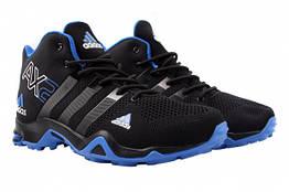 Ботинки Adidas текстиль, цвет черный