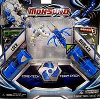 Набор для битвы Monsuno Core-Tech Lock и Bioblaze Сombat 2-Packs W5 34440-42936-MO