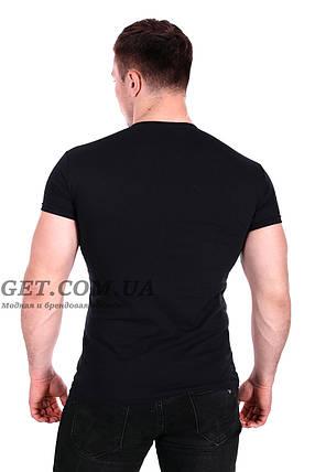 Мужская футболка Ranget Team турция цвет черный(f214/2) M, фото 2