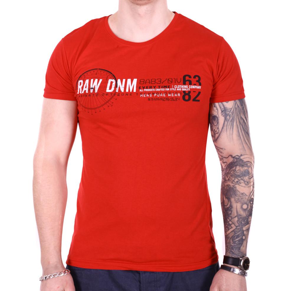 Футболка Rixon RAW DNM f1906/2 красная L