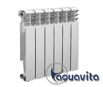 Биметаллический радиатор Aquavita 350/80 350D 30 бар