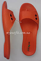 Женские сланцы Оранжевые Тапочки Шлёпанцы Размеры 36 37 39 40