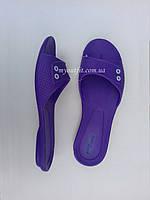 Женские сланцы Фиолетовые Тапочки Шлёпанцы