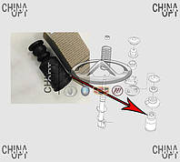 Пыльник переднего амортизатора + отбойник, Chery Beat [S18D,1.3], S21-2901033, Febest