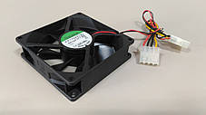 Вентилятор, кулер SUNON molex 90x90 для корпуса, фото 2
