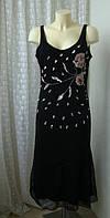 Платье женское р.50 вечернее шикарное декор бисер бренд Exe, фото 1