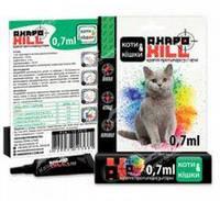 Капли Акарокилл для кошек 0,7мл