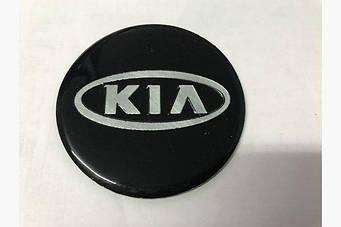 Наклейка Kia (d 75мм)