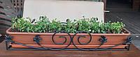 Металева підставка для балконного ящика l=650мм, фото 1