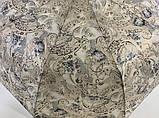 """Складной женский зонт полуавтомат с тефлоновой пропиткой купола """"антиветер"""" 9 спиц, фото 4"""