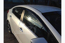 Вітровики (4 шт, SIM) Kia Cerato 3 2013-2018 рр ..
