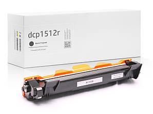 Картридж Brother DCP-1512R (тонер-картридж) совместимый, чёрный, ресурс (1000 копий) аналог от Gravitone