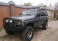 Дефлекторы окон (ветровики) NISSAN Patrol (Y60) 5d 1987-1997/Ford Maverick 5d 1988-1996
