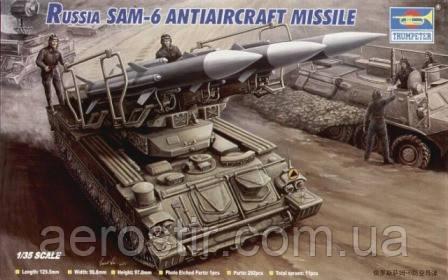 SAM-6 Antiaircraft Missile 1/35 Trumpeter 00361
