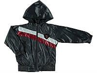 Куртка для ребёнка/мальчик полиэстер 70%, хлопок 30% чёрный TERRY все размеры  164-170 см
