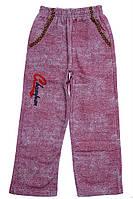 Спортивные штаны для ребёнка/ 100% хлопок Красный Bittos все размеры  4 года (104 см)