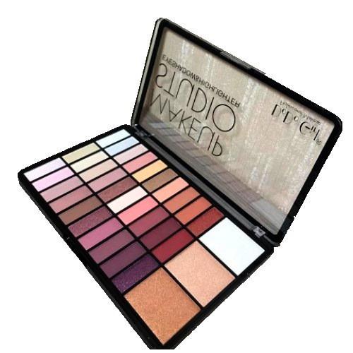 Палетка теней для век и хайлайтеров DoDo Girl Makeup Studio