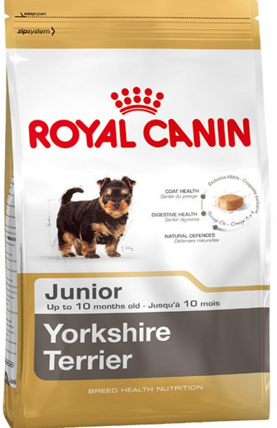 СУХОЙ КОРМ ДЛЯ СОБАК ЙОРК ЩЕНОК ROYAL CANIN YORKSHIRE JUNIOR 500 гр.