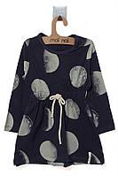 Платье для ребёнка/девочка 95 % хлопок, 5% эластан - MOI NOI все размеры  0-3 мес (56-62 см)