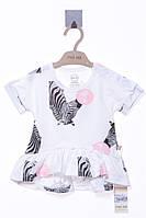 Платье для ребёнка/девочка - молочный MOI NOI все размеры  12-18 мес (80-86 см)