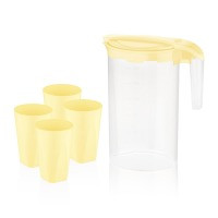 Питьевой набор пластик BAGER BG-424 Y /YELLOW/НАБОР/5 пр. д/напитков (BG-424 Y)