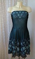 Платье женское р.46 вечернее выпускное нарядное вышивка декор бренд Jane Norman