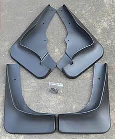 Брызговики полный комплект для Mitsubishi Outlander XL 2007-2012 (MZ313932;MZ314340), комплект 4шт. MF.MIOUTXL07