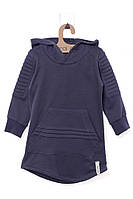 Кофта для ребёнка/девочка 100% хлопок Синий MOI NOI все размеры  12-18 мес (80-86 см)