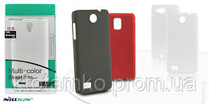 Чехол NILLKIN Multi-color Shield Case Fly IQ4410 Black
