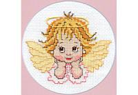 Повітруля Набор для вышивки крестом Мрійливий  янгол П1015