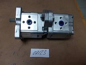Насос НШ-10-10 (тандем) правый, каталожный № НШ-10N-10N-R221AA 2