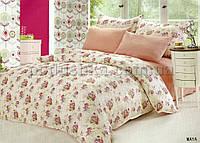 Комплект постели Le Vele Maya шелк-сатин Двуспальный евро комплект