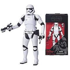 Фигурка 15 см Star Wars: The Black Series First Order Stormtrooper. Оригинал Hasbro B3838/B3834