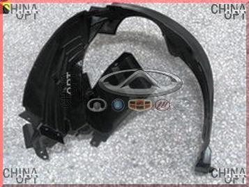 Подкрылок / локер передний левый, пластик, BYD F0 [1.0], 10236751-00, Aftermarket