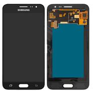 Дисплей (экран) для Samsung J320H/DS Galaxy J3 (2016) + тачскрин, черный, OLED, копия хорошего качества