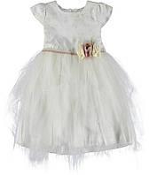 Платье для ребёнка/девочка - молочный Serilla /размеры/ 7 лет