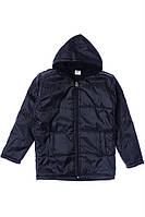 Куртка для ребёнка/мальчик 100% полиэстер чёрный AVM Teks все размеры  8 лет