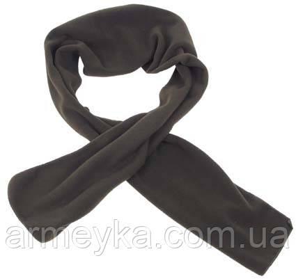 Флисовый шарф 160x25 cm, олива