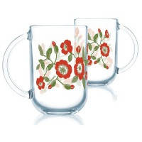 Чашка LUMINARC TROQUET MARJOLIANA /НАБОР/6х320 мл (N9668)