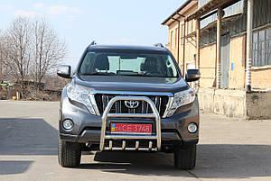 Защита переднего бампера (кенгурятник) Toyota Prado 150, фото 2