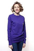 Свитер Женский 100% акрил фиолетовый Nefise все размеры  S-M