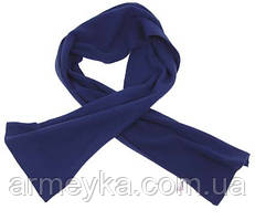 Флисовый шарф 160x25 cm, синий